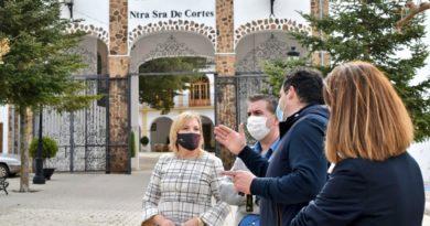 Primeras actuaciones de Diputación para celebrar el VIII Centenario de la Aparición de la Virgen de Cortes.